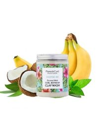 Flora & Curl - SOOTHE ME Coconut Mint Curl Refresh Clay Wash - 260g