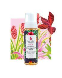 Flora & Curl - Style me - Sweet Hibiscus Curl Volumizing Foam - 6.8oz / 200ml