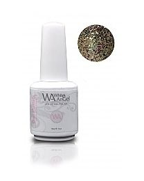 White Angel Confetti Gold Gelpolish 15 ml