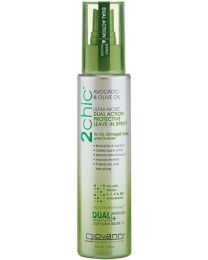 Giovanni Cosmetics 2Chic Avocado & Olive Oil Ultra Moist Dual Action Protective Leave-In Spray