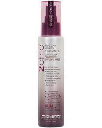 Giovanni Cosmetics 2Chic Keratin & Argan Oil Ultra Sleek Flat Iron Styling Mist