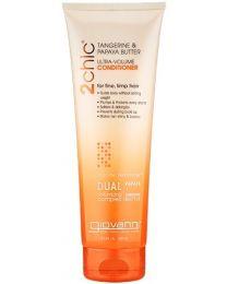 Giovanni Cosmetics 2Chic Tangerine & Papaya Butter Ultra Volume Conditioner