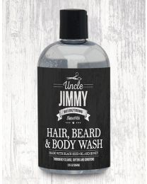 Uncle Jimmy Hair Beard & Body Wash 354 ml