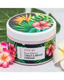 Flora & Curl - Style me - Sweet Hibiscus Twist & Braid Cream - 10.1oz / 300ml