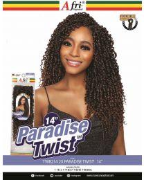 """Mane concept AFRI-NAPTURAL®- TWIST - TWB214 - 2X PARADISE TWIST 14"""""""