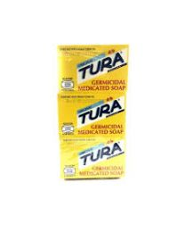 Tura Germidical Medicated Soap 3-pack