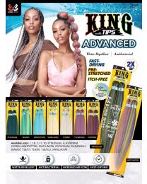 Bobbiboss King Tips 2x 58""