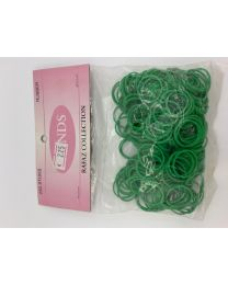 Rubber Bands Medium Green