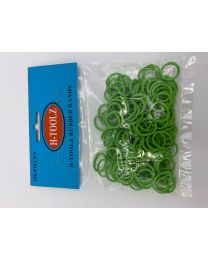 Rubber Bands Light Green
