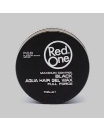 Red One Black Aqua Hair Gel Wax Full Force 150 ml