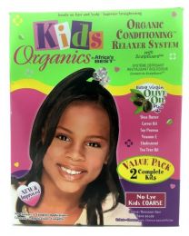 Africas Best Kids Organics Conditioning Relaxer System Twin Pack