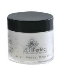 NailPerfect Premium Acrylic Powder 250g. Mega White