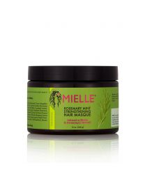 Miele Organics Rosemary Mint Strengthening Hair Masque - 12oz / 355ml