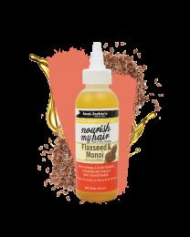 Aunt Jackie's Nourish My Hair – Flaxseed & Monoi - 4oz
