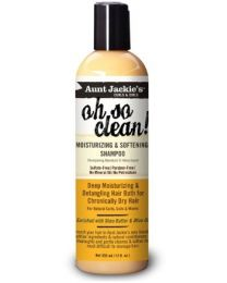 Aunt Jackies Curls & Coils Oh So Clean Moisturizing & Softening Shampoo