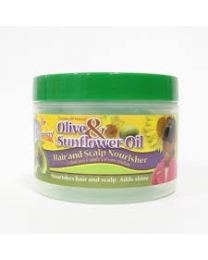 Sofn'free n'Pretty Olive and Sunflower Hair and Scalp Nourishes 237 ml