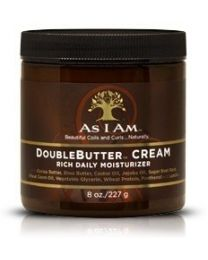 As i Am Naturally Double Butter Cream Rich Daily Moisturizing