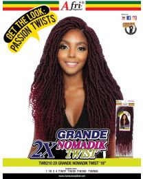 "Afri-Naptural - Passion Twists - TWB210 2xGrande Nomadik Twist 18"""
