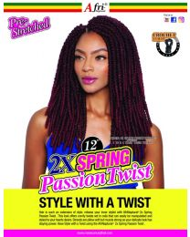 Afri Naptural TWB212 2x Spring Passion Twist 12""