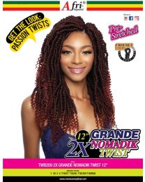 Afri-Naptural - Passion Twists - TWB209 2xGrande Nomadik Twist 12""