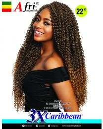 """Afrinaptural Caribean 3 X Passion Water Wave 22"""""""
