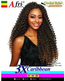 """Afrinaptural Caribean 3 X Water Wave 16""""/18""""/20"""""""
