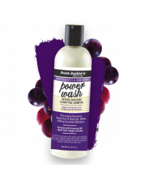 Aunt Jackie's POWER WASH INTENSE MOISTURE CLARIFYING SHAMPOO- 12oz / 355g