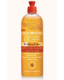 Creme of Nature - Argan Oil Apple Cider Vinegar Clarifying Rinse 15.5oz - 458 ml