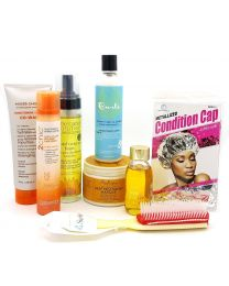 CG Friendly Products Set 1 For Protein Hair For Normal Fine Wavy and Curly Hair