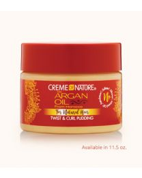 Creme of Nature Argan Oil Twist & Curl Pudding Curl Enhancing Creme 11.5oz - 340 gr