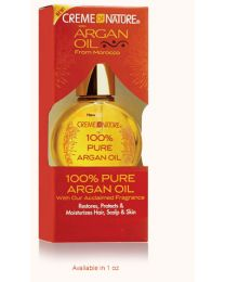 Creme Of Nature - Argan Oil 100% Pure Argan Oil -  1oz - 28 ml