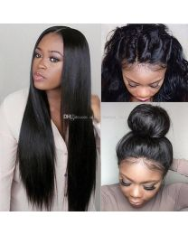 Virgin Remi Human Hair Full Lace Wig Straight style - Real Super Quality !