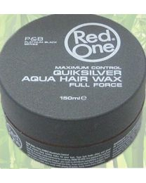 Red One Aqua Hair Gel Wax Quicksilver