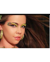 Xoticeyes Self Adhesive Flower Power Eye Make-up Strips