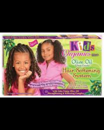 Africas Best Kids Organics Olive Oil Hair Softening System