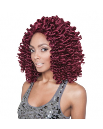Isis Red Carpet Lacefront Wig Afro Bounce 12