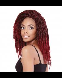 "Isis Hair Afri Naptual 3x Congo Bantu Twist 12"""