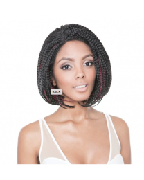 Isis Red Carpet Lacefront Wig Angled Bob Braids