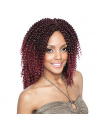 Isis Hair Faux Remi Caribbean 2x Natural Cork Screw 10""