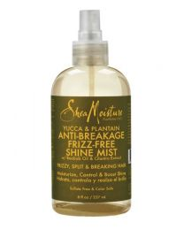Shea Moisture Yucca & Plantain Anti Breakage Frizz Free Shine Mist 237 ml