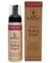 Dr. Miracles Healing Styling Foam - 7oz / 198.5g