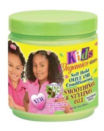 Africas Best Kids Organics Soft Hold Olive Oil Smoothing & Styling Gel