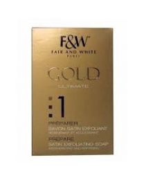 Fair And White Gold Satin Exfoliating Soap 200 gr