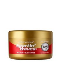 Sportin Waves - Maximum Hold Gel Pomade - 3.5oz - 100g