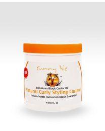 Sunny Isle Jamaican Black Castor Oil Curly Custard - 8oz / 237 ml