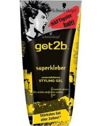 Schwarzkopf Got2be Glued Super Kleber Styling Gel