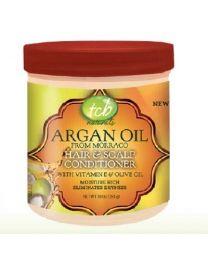 TCB Naturals Argan Oil Hair & Scalp Conditioner 340 gr