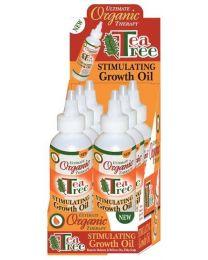 Africas Best Ultimate Organics Tea Tree Oil Stimulating Growth Oil
