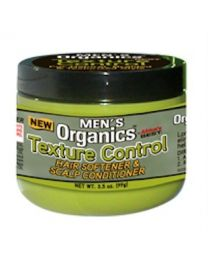 Africas Best Mens Organics Texture Control Hair Softener & Scalp Conditioner