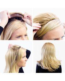 "Balmain Hair - Half Wig - Memory®Hair - 18"" / 45cm"